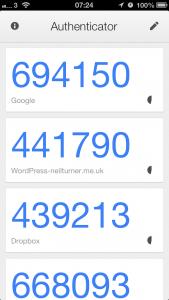 GoogleAuthenticatorScreen